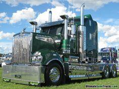 Infos | News | Reportagen für den Berufskraftfahrer in Deutschland. http://www.bkftv.de P3 Transport Kenworth T909