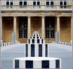 Daniel Buren, Palais Royal Paris