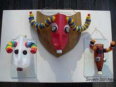 cute weird craft - a vegan upcycle taxidermy