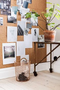CorkYes, cork is beautiful! And a practical choice for walls; not only is it sound and heat insulating, it also provides a canvas for all your notes, paraphernalia and inspirational bits and bobs. #refinery29 http://www.refinery29.uk/cheap-materials-home#slide-6