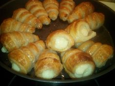 Greek Sweets, Greek Recipes, Pretzel Bites, Sushi, Food To Make, Deserts, Bread, Ethnic Recipes, Kuchen
