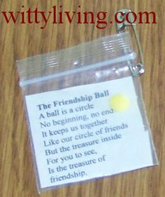 Friendship Ball SWAPS