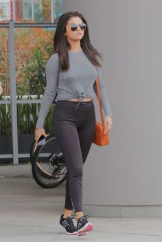 June 18: Selena leaving a gym in West Hollywood, California