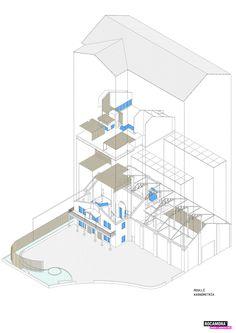Rocamora Arquitectura transforma una bodega en un restaurante en Alicante