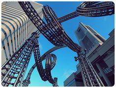 Minato Mirai, Yokohama     roller coaster