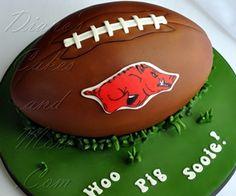 Arkansas Razorback Football Cake