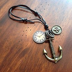 Car Accessories Anchor Rearview Mirror Charm by DorysBoutique $19