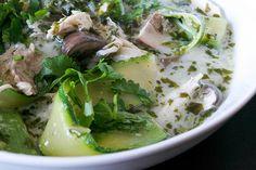 chicken coconut fragrant herb soup aip paleo by joeybinx77, via Flickr