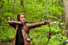 Katniss Everdeen - Jennifer Lawrence em 'Jogos Vorazes'