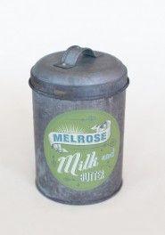 melrose milk and butter treat tin