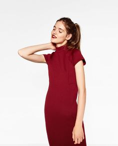Image 2 of SLIM FIT DRESS from Zara