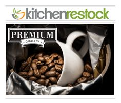 Coffee equipment is a standard in any food service establishment. Keep your customers satisfied and awake with one of our urns, percolators, and more. #kitchenrestock