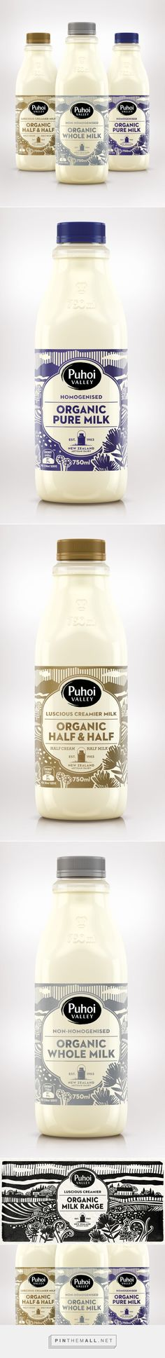 Puhoi Organic Milk by Unified Brands