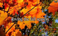 Favorite season n not just because of football;)