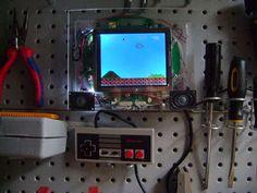 DIY Workbench playable NES