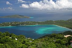 Megan's Bay in St. Thomas Virgin Islands