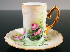 1891 Limoges Cup and Saucer