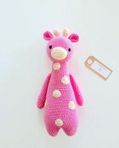 Giraffe by littlepinkcanary. Crochet pattern by Little Bear Crochets: www.littlebearcrochets.com ❤️ #littlebearcrochets #amigurumi