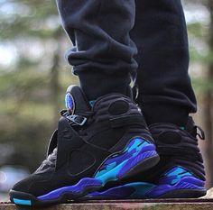 Jordan 8 Aqua Flow