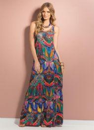 Vestido Estampa Abstrata