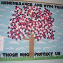 9/11 Patriotic Bulletin Board