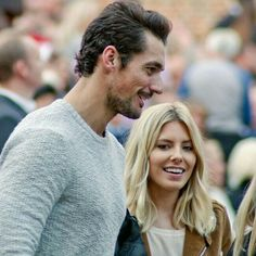 #DavidGandy and Mollie King attend the final night Hampton Court Palace Festival on Wednesday