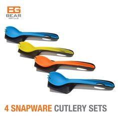 #BearGrylls #SnapwareCutlery #4Pack #19%Save
