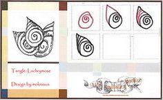 Lachrymose-Tangle Pattern (molossus, who says Life Imitates Doodles) Tags: tangle zentangle zendoodle tanglepattern zentangleinspiredart