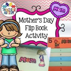 Mother's Day Flip BookThis flip book contains activities for '5 things I love about my Mom'.It can be put together as a flip book once complete. I recommend stapling or gluing the tops of each flip page.Comes in black and white for ink friendly printing.C