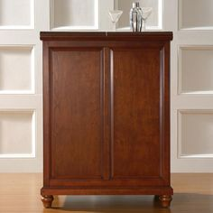 Ordinaire Crosley Furniture Cambridge Expandable Bar Cabinet In Classic Cherry Finish  By Crosley Furniture, Http: