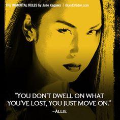 "Allison ""Allie"" Sekemoto from The Blood of Eden series by Julie Kagawa"