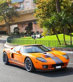 Orange Ford GT..                                                       …
