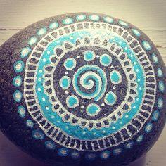 Art rupestre de Mandala par AntoniaBeachDesigns sur Etsy