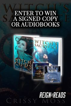 Win Signed Copies or Audio Books from Author Crissy Moss Giveaway Ends September 1!