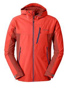 Men's Sandstone Shield Hooded Jacket