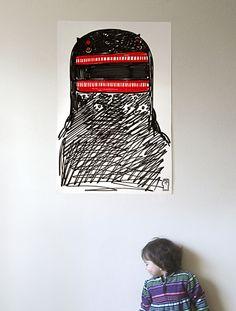 """Motomichi Nakamura: """"King Otter"""" poster"""