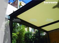Pergola antilluvia by Toldos Torrente