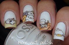 Neko Atsume Nail Art ~ More Nail Polish