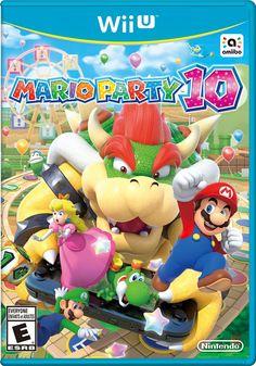Mario Party 10 (Nintendo Wii U Blue case Super Mario Norental Must See Mario Party, Big Party, Xmas Party, Nintendo Wii U Games, Wii Games, Nintendo Splatoon, Mario Brothers, Jamberry, Luigi