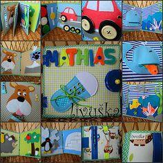 livushka / textilná knižka Mathias