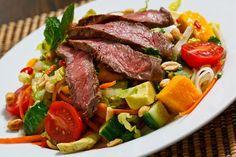 Thai Beef Noodle Salad