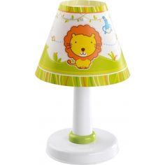 Lampe de Chevet enfant Little Zoo - H26 cm - Dalber La lampe de chevet Little Zoo de Dalber donnera une ambiance sauvage dans la chambre de votre enfant. Elle accompagnera votre enfant au moment du coucher pour des rêves peuplés d'aventures et d'animaux de la savane tels que le lion, le zèbre, l'éléphant et la girafe. Ce luminaire convient pour une chambre pour bébé ou enfant en bas âge.