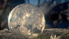 Calgary photographer Chris Ratzlaff has become a master at freezing bubbles in subzero temperatures.