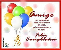 tarjeta de feliz cumpleaños para un amigo en facebook Bday Cards, Happy B Day, Boyfriend Birthday, Birthdays, Happy Birthday, Birthday Ideas, Gifts, Club, Facebook