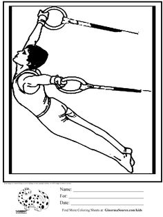 teddy bear gymnastics coloring pages - photo#47