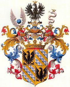 Coat of Amrs grafen von Marenzi Wappen