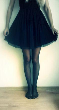black, fashion, skirt, dress, sad, sexy, white, body