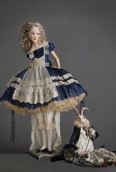 Alisa Filippova: Alice In Wonderland #balljointeddollsrussian