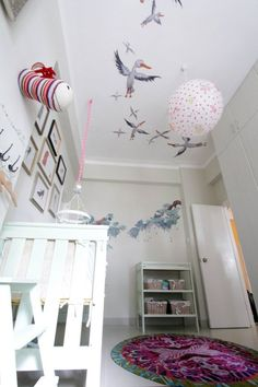 Evelyn's Enchanted Ceiling Room My Room | Apartment Therapy