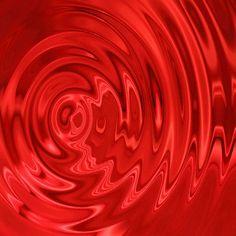 satin ripples lipstick red
